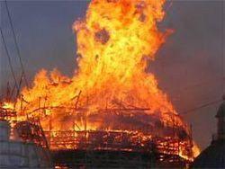 Правозащитники: в Чечне сожжено шесть домов семей боевиков