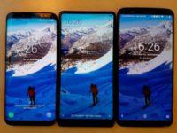 Смартфон  OnePlus 5T сфотографирован с конкурентами