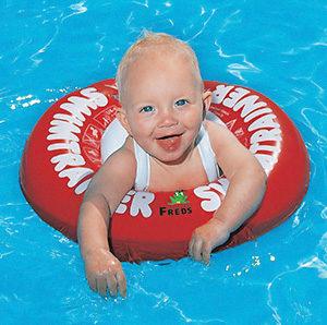 Детский учебный плавательный круг